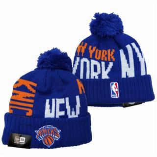 2020 New York Knicks Team Logo Stitched Basketball Sports Beanie Hat YD