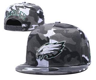 2020 Philadelphia Eagles Team Logo Camo Stitched Snapback Adjustable Hat GS