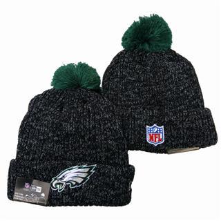 2020 Philadelphia Eagles Team Logo Stitched Knit Hat Sports Beanie Hat YD 1