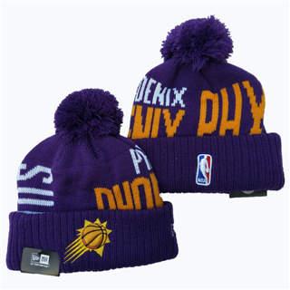 2020 Phoenix Suns Team Logo Stitched Basketball Sports Beanie Hat YD