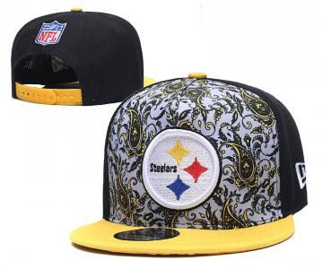 2020 Pittsburgh Steelers Team Logo Fashion Stitched Hat Adjustable Snapback LH