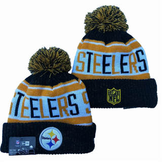 2020 Pittsburgh Steelers Team Logo Stitched Knit Hat Sports Beanie Hat YD