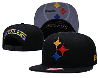 2020 Pittsburgh Steelers Team Logo Stitched Snapback Adjustable Hat GS