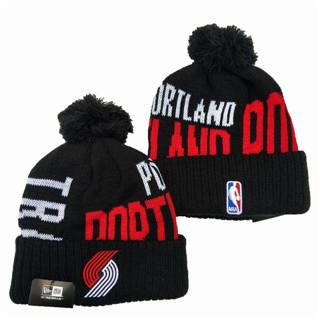 2020 Portland Trail Blazers Team Logo Stitched Basketball Sports Beanie Hat YD