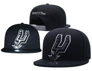 2020 San Antonio Spurs Team Logo Stitched Basketball Snapback Adjustable Hat GS