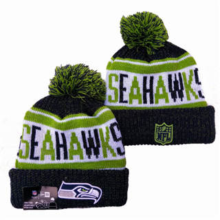 2020 Seattle Seahawks Team Logo Stitched Knit Hat Sports Beanie Hat YD