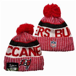 2020 Tampa Bay Buccaneers Team Logo Stitched Knit Hat Sports Beanie Hat YD 1