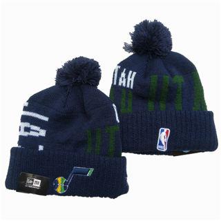 2020 Utah Jazz Team Logo Stitched Basketball Sports Beanie Hat YD