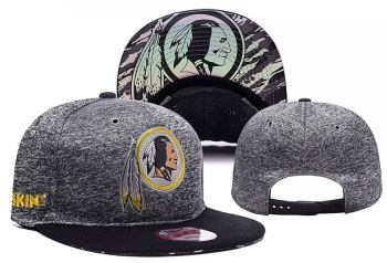 2020 Washington Redskins Gray Team Logo Stitched Hat Adjustable Snapback YD