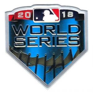 3.5 x 3.5 2018 Baseball World Series Playoff Patch