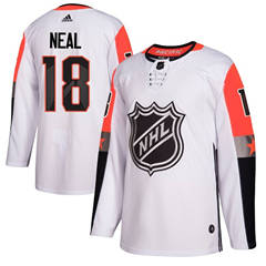Golden Knights #18 James Neal White 2018 All-Star Pacific Division  Stitched Hockey Jersey