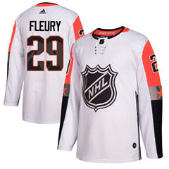 Golden Knights #29 Marc-Andre Fleury White 2018 All-Star Pacific Division  Stitched Hockey Jersey
