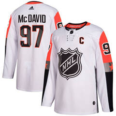 Oilers #97 Connor McDavid White 2018 All-Star Pacific Division  Stitched Hockey Jersey