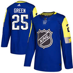Red Wings #25 Mike Green Royal 2018 All-Star Atlantic Division  Stitched Hockey Jersey