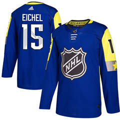 Sabres #15 Jack Eichel Royal 2018 All-Star Atlantic Division  Stitched Hockey Jersey