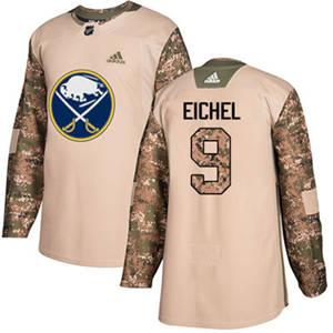 Sabres #9 Jack Eichel Camo  2017 Veterans Day Stitched Hockey Jersey