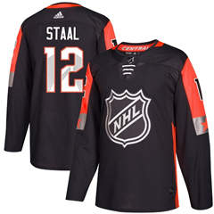 Wild #12 Eric Staal Black 2018 All-Star Central Division  Stitched Hockey Jersey