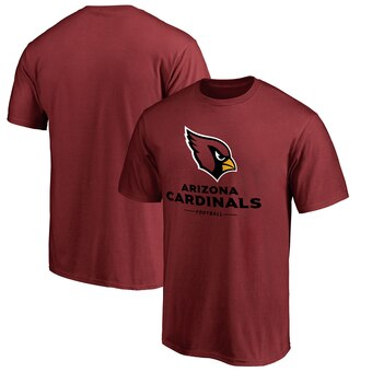 Arizona Cardinals Pro Line Team Lockup T-Shirt - Cardinal