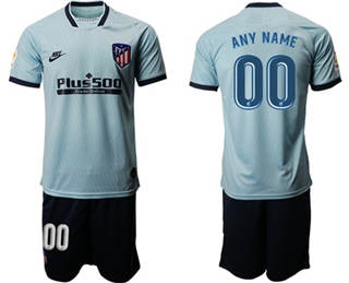 Atletico Madrid Personalized Third Soccer Club Jersey