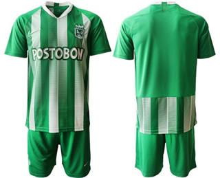 Atletico Nacional Blank Home Soccer Club Jersey