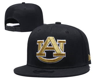 Auburn Tigers Team Logo Snapback Stitched Adjustable Hat GS 1