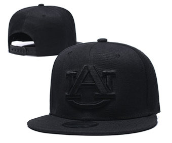 Auburn Tigers Team Logo Snapback Stitched Adjustable Hat GS 2