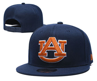 Auburn Tigers Team Logo Snapback Stitched Adjustable Hat GS 5