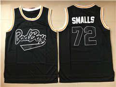 Bad Boy 72 Biggie Smalls Black Movie Basketball Jersey
