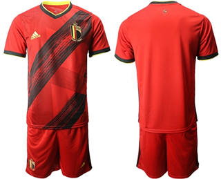Belgium Blank Home Soccer Country Jersey