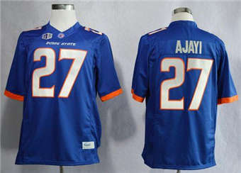 Boise State Broncos #27 Jay Ajayi Blue Stitched NCAA Jersey