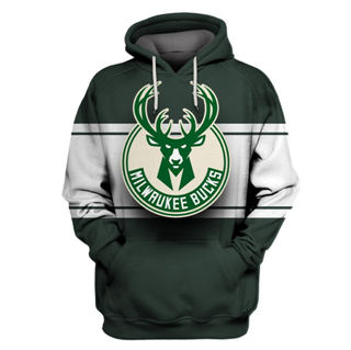 Bucks Green All Stitched Hooded Sweatshirt