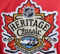Calgary Flames Heritage Classic patch