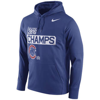 Chicago Cubs 2016 World Series Champions Celebration Performance Men's Hoodie
