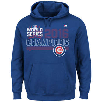 Chicago Cubs 2016 World Series Champions Fierce Favorite Men's Pullover Hoodie