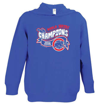 Chicago Cubs 2016 World Series Champions Men's Blue Pullover Hoodie (11)