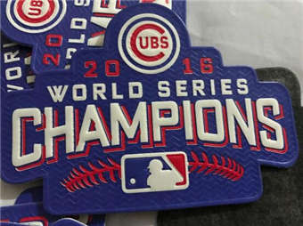 Chicago Cubs 2016 World Series Champions plastic Patch