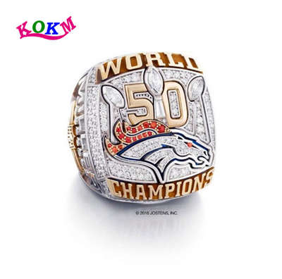Denver Broncos in 2016 Championship Ring