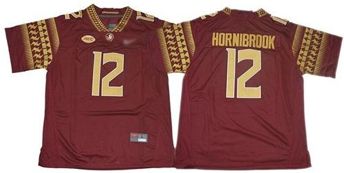 Florida State Seminoles #12 Alex Hornibrook Red Limited Stitched College Football Jersey