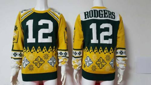 Green Bay Packers #12 Aaron Rodgers Football Ugly Sweater