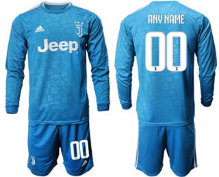 Juventus Personalized Third Long Sleeves Soccer Club Jersey