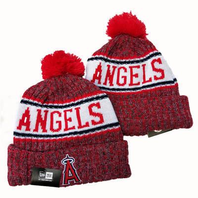 Los Angeles Angels 2019 Team Logo Stitched Knit Hat Beanie YD