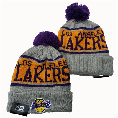 Los Angeles Lakers 2019 Team Logo Stitched Knit Hat Beanie YD