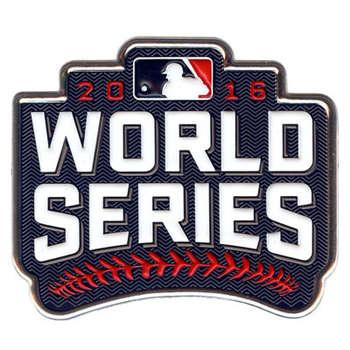 Baseball 2016 World Series Jerseys Patch