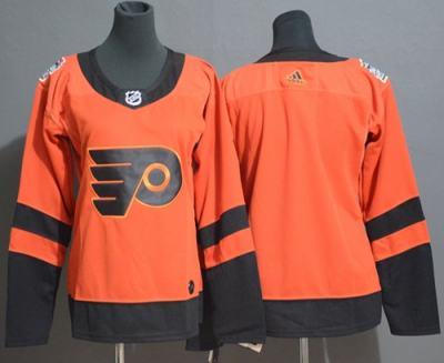 Men's  Philadelphia Flyers Blank Orange  2019 Stadium Series Stitched Hockey Jersey