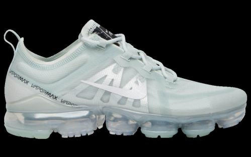 Men's Air VaporMax 2019 Footwear Barely Grey White-Black-Metallic Silver AR6631-005