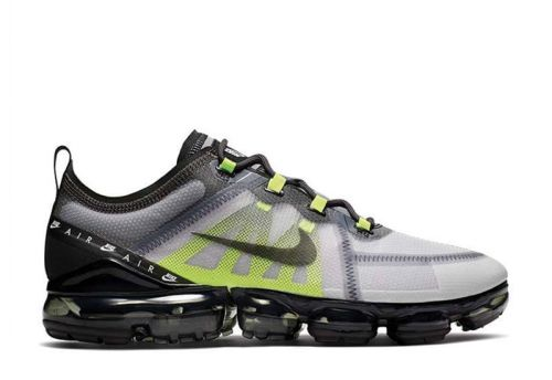 Men's Air VaporMax 2019 LX Sneakers Atmosphere Grey Black-Thunder Grey-Volt BV1712-001
