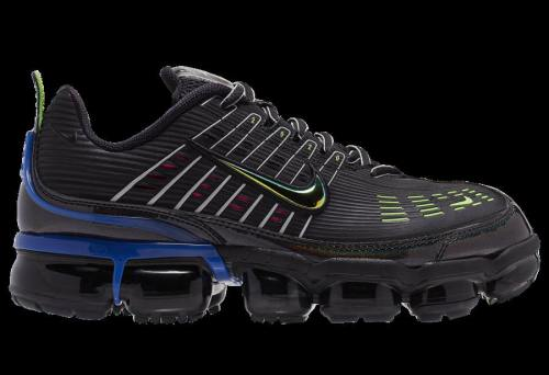 Men's Air VaporMax 360 Running Shoes Black Lime Green Blue CK2718-003