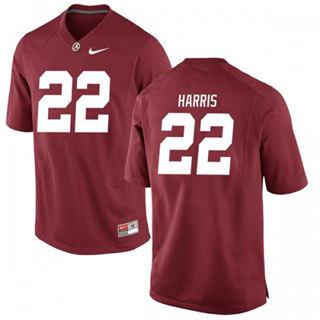 Men's Alabama Crimson Tide #22 Najee Harris Scarlet 2019 College Football Jersey