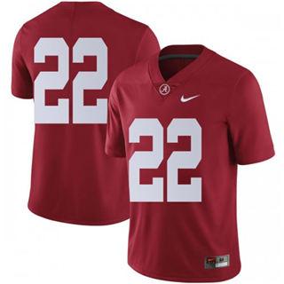 Men's Alabama Crimson Tide #22 Najee Harris Scarlet No Name College Football Jersey