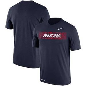 Men's Arizona Wildcats  Sideline Seismic Legend Performance T-Shirt – Navy